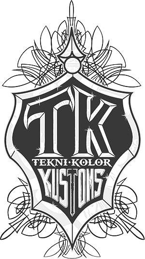 Teknikolor Kustoms Collision Logo